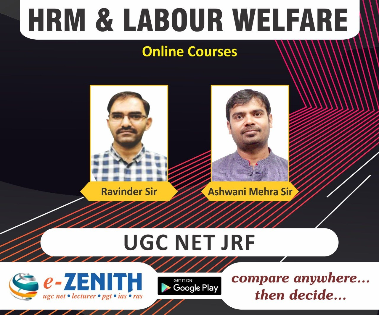UGC NET HRM & LABOR WELFARE ONLINE COURSE