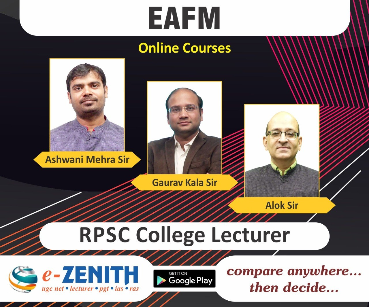 RPSC COLLEGE LECTURER ONLINE COURSE