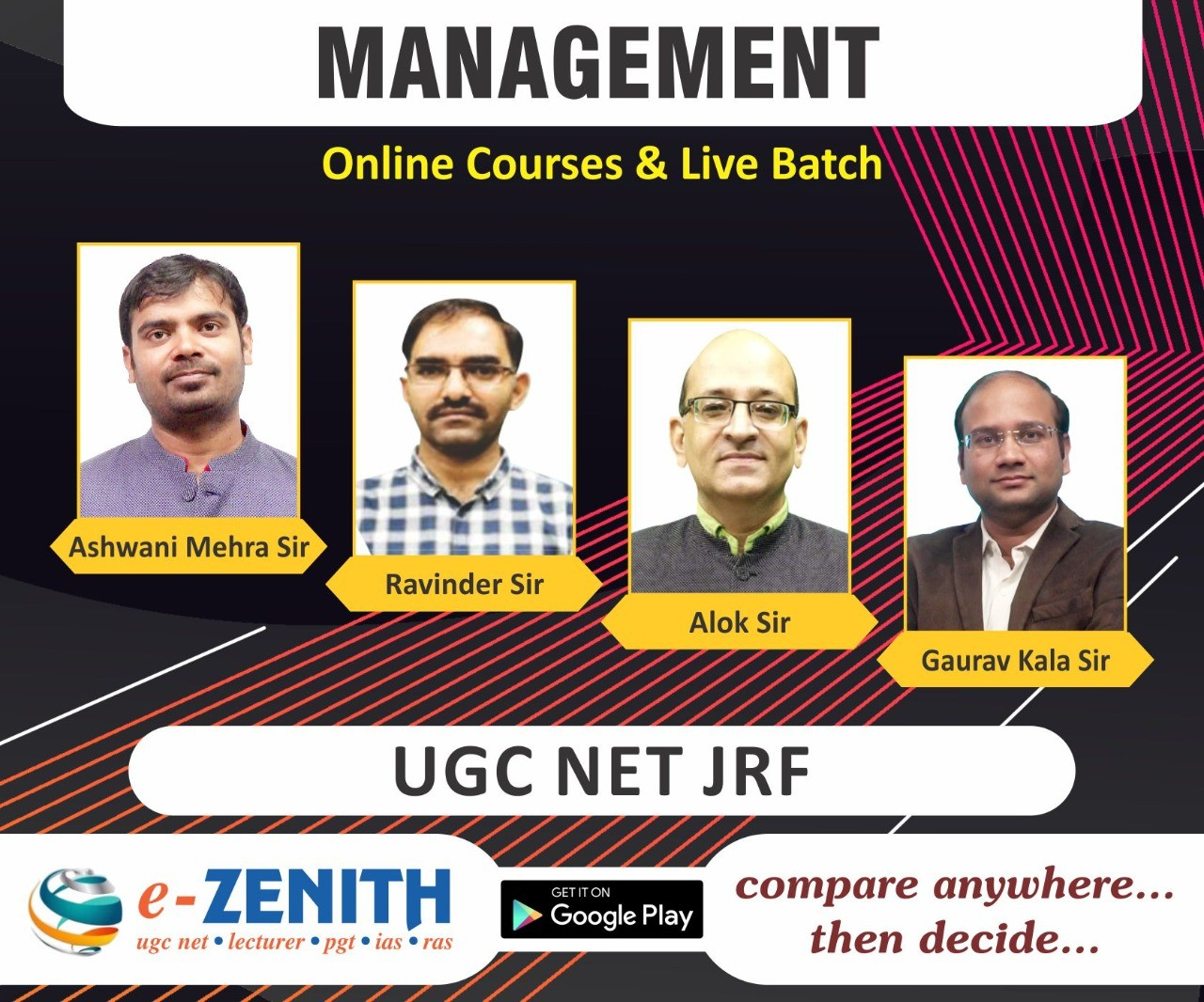 JRF UGC NET MANAGEMENT ONLINE COACHING